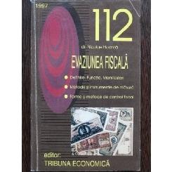 112 EVAZIUNEA FISCALA