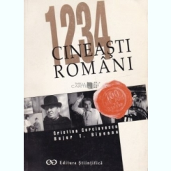 1234 CINEASTI ROMANI - CRISTINA CORCIOVESCU