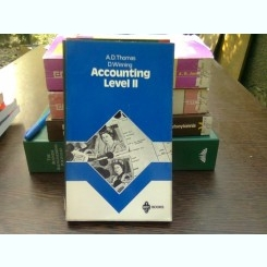 Accounting. Level 2 - A.D. Thomas  (contabilitate, nivelul 2)