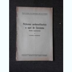 ACTIUNEA ANTIANAFILACTICA A APEI DE LA CACIULATA, STUDIU EXPERIMENTAL - POLIXENIA N. IEPUREANU