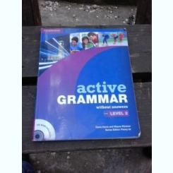 ACTIVE GRAMMAR, LEVEL 2, WITHOUT ANSWERS - FIONA DAVIS  NU CONTINE CD