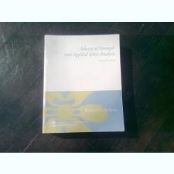 ADVANCED STRENGTH AND APPLIED STRESS ANALYSIS - RICHARD G. BUDYNAS   (CARTE IN LIMBA ENGLEZA)