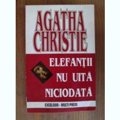 Agatha Christie - Elefantii nu uita niciodata