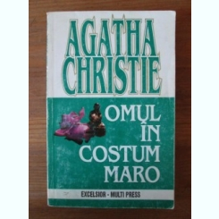 Agatha Christie - Omul in costum maro
