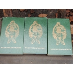 AL. I. AMZULESCU - BALADE POPULARE ROMANESTI 3 volume