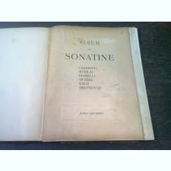 ALBUM DE SONATINE+SONATINEN DE M. CLEMENTI  (COLIGATE)