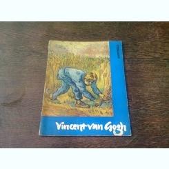 ALBUM VAN GOGH, TEXT IN LIMBA GERMANA (Vincent van Gogh - 14 farbige Gemäldeproduktionen, 2 einfarbige Tafeln/14 színes festményreprodukció, 2 fekete-fehér tábla )
