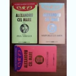 ALEXANDRU CEL MARE - VALERIO MASSIMO MANFREDI    3 VOLUME