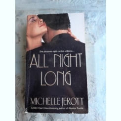ALL NIGHT LONG - MICHELLE JEROT  (CARTE IN LIMBA ENGLEZA)