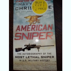 American Sniper The Autobiography of the Most Lethal Sniper in U.S. Military History-Chris Kyle and Others / carte in lb engleza