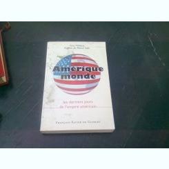 AMERIQUE MONDE - GUY MILLIERE  (CARTE IN LIMBA FRANCEZA)