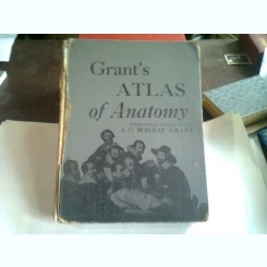AN ATLAS OF ANATOMY - J.C. BOILEAU GRANT