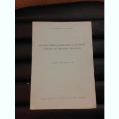 ANALIZA CHIMICA SI MECANICA A SOIURILOR VITICOLA DIN REGIUNEA ALBA IULIA - S. GOGALNICEANU