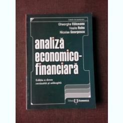 ANALIZA ECONOMICO-FINANCIARA - GHEORGHE VALCEANU