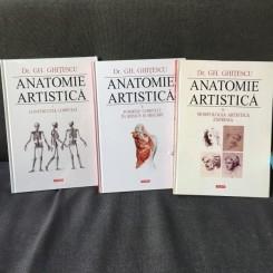 Anatomie artistica - Dr. Gh. Ghitescu 3 VOLUME