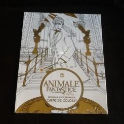 Animale fantastice - carte de colorat antistres