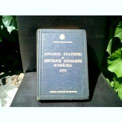 Anuarul statistic al Republicii Socialiste Romania 1970