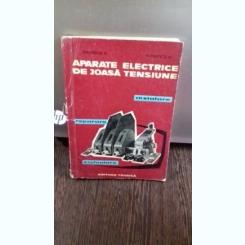 APARATE ELECTRICE DE JOASA TENSIUNE - SIMULESCU DRAGOS