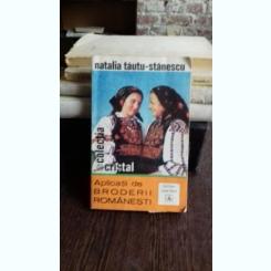 APLICATII DE BRODERII ROMANESTI - NATALIA TAUTU STANESCU