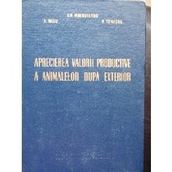 APRECIEREA VALORII PRODUCTIVE A ANIMALELOR