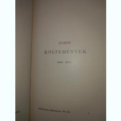 PETOFI - KISEBB KOLTEMENYEK / carte in lb maghiara