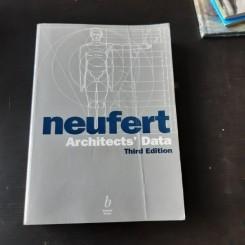 ARCHITECTS' DATA - ERNST NEUFERT (CARTE IN LIMBA ENGLEZA, EDITIA A III-A)