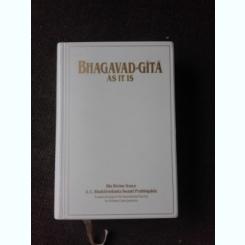 AS IT IS - BHAGAVAD-GITA  (CARTE IN LIMBA ENGLEZA)