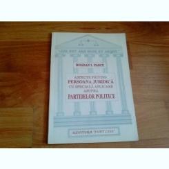 ASPECTE PRIVIND PERSOANA JURIDICA-BOGDAN I. PASCU