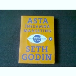 ASTA INSEAMNA MARKETING - SETH GODIN