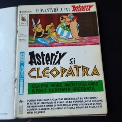 ASTERIX, VOLUMUL 2 ASTERIX SI CLEOPATRA - R. GOSCINNY, A. UDERZO  CARTE CU BENZI DESENATE