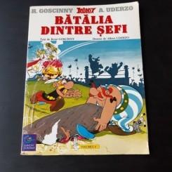 ASTERIX, VOLUMUL 6 BATALIA DINTRE SEFI - R. GOSCINNY, A. UDERZO  CARTE CU BENZI DESENATE