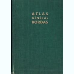 ATLAS GENERAL BORDAS - PIERRE SERRYN  (LA FRANCE - LE MONDE)