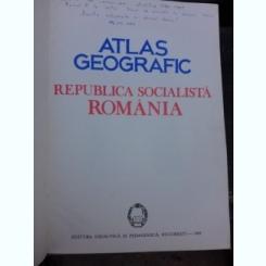 ATLAS GEOGRAFIC REPUBLICA SOCIALISTA ROMANIA, 1985