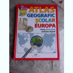 ATLAS GEOGRAFIC SCOLAR, EUROPA