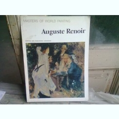 AUGUSTE RENOIR. MASTERS OF WORLD PAINTING   ALBUM  AURORA ART