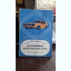 AUTOMOBILE. SOFER MECANIC AUTO - GH. FRATILA