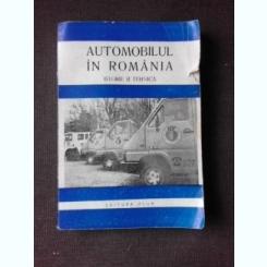 AUTOMOBILUL IN ROMANIA, ISTORIE SI TEHNICA - CHIRIAC VASILIU