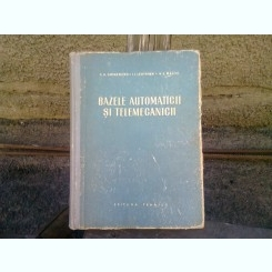 BAZELE AUTOMATICII SI TELEMECANICII - S.A. GHINZBURG