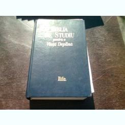 BIBLIA DE STUDIU PENTRU O VIATA DEPLINA - VERSIUNE C. CORNILESCU