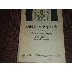 BIBLIFCHES LEFEBUCH - SCHAFER UNO KREBS