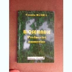 Biosemnale, prelucrari numerice - Cosmin Banica