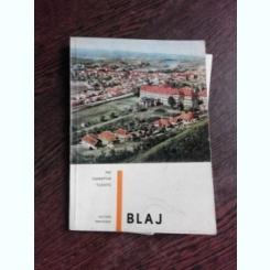 BLAJ, MIC INDREPTAR TURISTIC - POMPEI BIRLEA  (CONTINE HARTA)
