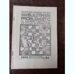 BULETIN PROBLEMISTIC AL COMISIEI CENTRALE DE STUDII SI PROBLEME NR. 54/1990