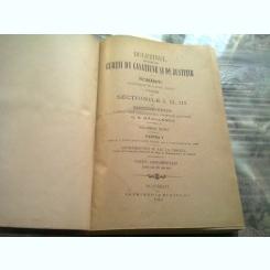 Buletinul deciziunilor curtii de casatie si justitie, sectiunile i, ii, iii, vol.XLVIII, partea -g.s. badulescu 1909