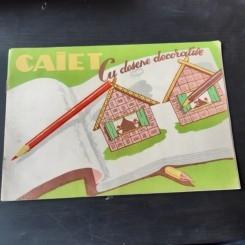 CAIET CU DESENE DECORATIVE