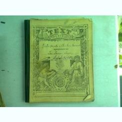 CAIET CURS ANTICHITATI, VIATA PRIVATA A ELENILOR SI ROMANILOR, APARTINAND LUI I. IONESCU BUJOR, AN 1902