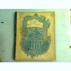 CAIET CURS ARHEOLOGIE, ARTA ANTICA, APARTINAND LUI I. IONESCU BUJOR, AN 1903 PARTEA A DOUA