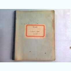CAIET CURS EPIGRAFIE, ANUL IV, APARTINAND LUI I. IONESCU BUJOR, AN 1904