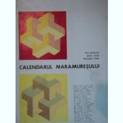 CALENDARUL MARAMURESULUI- ION BOGDAN, MIHAI OLOS SI NICOARA TIMIS- 1980
