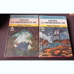 CAPITAN LA CINCISPREZECE ANI - JULES VERNE  2 VOLUME ILUSTRATII KALAB FRANCISC